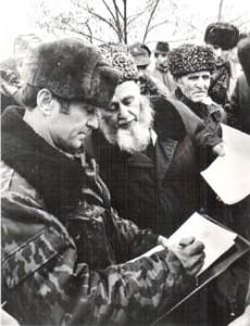 Переговоры с жителями н.п. Комсомольское