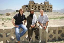 Андрей Дышев (слева) в командировке в Афганистане