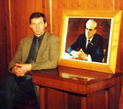 Я в кабинете Юрия Владимировича Андропова