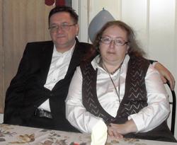 Сердар и его жена Наташа