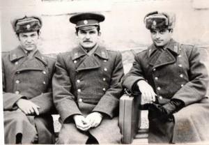 Сергей Дышев (в центре), Сергей Большаков (справа) и я