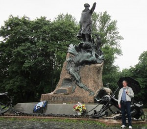 Памятник глубоко мною уважаемому адмиралу Макарову