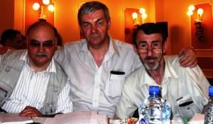 Я с Валерием Монастырёвым (слева) и Владимиром Счепицким